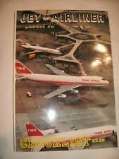 Jet Airliner Checklist Softcover by Paul Rainford  Possibly 1985