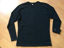 SMARTWOOL MENS SHIRT KNIT SWEATER SIZE XXL BLACK 177-0318