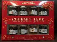 Straberry Blueberry Apricot Blackcurrant Gourmet Jams 12.8 oz Preserves Jars
