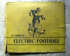 Vintage All American Electric Football Game 1930-40s Jim Prentice Metal Football