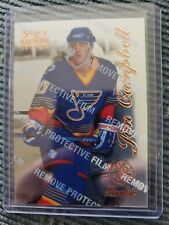 1996-97 Pinnacle Select Certified Edition ROOKIE Jim Campbell St Louis Blues
