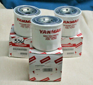 YANMAR FILTER FUEL Y129470-55810 LOT OF 3  (*2262SH)