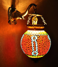Turkish Globe Hanging Wall Sconce Exclusive Down Lighting Wall Pendant Lamp Gift