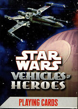 Star Wars Vehicles of Heroes Playing Cards