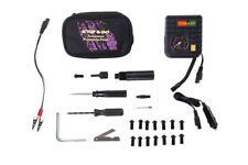 Motorcycle Tubeless Tyre Puncture PILOT Repair Kit - plugger and inflator kit