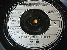 "KIKI DEE - ONE JUMP AHEAD OF THE STORM   7"" VINYL"