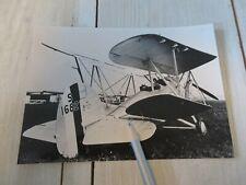 Vintage photo Hawker Osprey S1682 biplane aircraft Royal Air Force