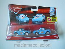 CARS Disney pixar cars DINOCO MIA & TIA rarissimo 2016 scala 1/55 mattel maclama