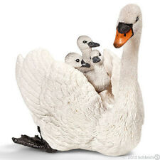 *NEW* SCHLEICH 13718 White Swan with Cygnets - Farm Life - RETIRED