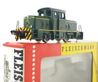 FLEISCHMANN 4201 HO - GERMAN OK GREEN CLASS BR 13 DIESEL SHUNTER No.1306