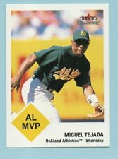 Miguel Tejada 2003 Fleer Tradition #418  Shortstop  Oakland Athletics   Baseball