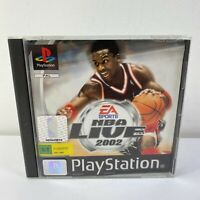 NBA Live 2002 Playstation 1 (PS1)