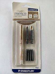 Staedtler Calligraphy Pen Set 8 Pieces- , S2BKV