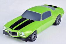 AFX Racemasters Tomy 22003 Camaro RS350 Green Mega G+ HO Slot Car