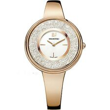 NEW SWAROVSKI LADIES CRYSTALLINE ROSE GOLD PURE WATCH 5269250- NEXT DAY DELIVERY