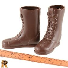 Masterpiece Action Soldier - Brown Boots (for Feet) - 1/6 Scale GI JOE Figures