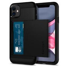 Spigen For Apple iPhone 11 Slim Armor CS Case Wallet Card Slot Cover TPU