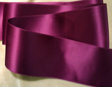"1-1/2"" SWISS DOUBLE FACE SATIN RIBBON  - FUCHSIA"