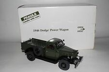 Danbury Mint 1946 Dodge Power Wagon Truck, 1:24 Scale Die Cast Model with Box