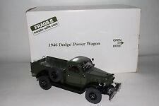 Danbury Mint 1946 Dodge Power Wagon Truck, 1:24 Scale Die Cast Model with Box