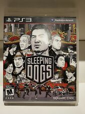 Sleeping Dogs Sony PlayStation 3 PS3 Complete CIB