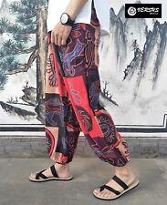 Pantaloni Uomo Largo Stampa Etnica Man Trousers Wide Ethnic Pants PAMAN25