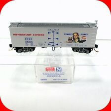 N Scale PEPSI-COLA - 36' Wood Ice Reefer Box Car -PCEX 58506 -MICRO TRAINS 58560