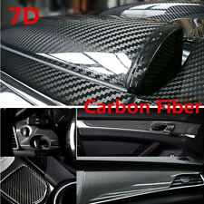 Carbon Fiber Sticker Glossy Car Wrap Sheet Roll Film Stickers Decals Accessories