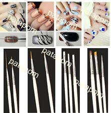 15Pc Nail Art UV Gel Design Painting Pen Brush Set fr Salon Manicure DIY Tool PA