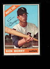 1966 TOPPS  #127 KEN BERRY AUTHENTIC ON CARD AUTOGRAPH SIGNATURE AX6833