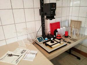 Fotolabor Vergrößerer Vergrößerungsgerät Kaiser Meopta Jobo Dunkelkammer