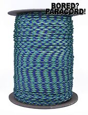 Underwater - 550 Paracord Rope 7 strand Parachute Cord - 1000 Foot Spool