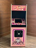 New Pink Ms. PacMan Arcade Machine, Upgraded To Play 412 Games!