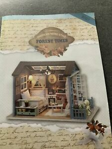 Dollhouse Room box - DIY Forest Times kit