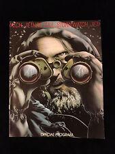 JETHRO TULL-STORMWATCH TOUR-CONCERT PROGRAM BOOK-1979