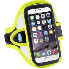 Tune Belt Sport Armband For Galaxy S4, Galaxy S3, HTC One etc- Reflective Yellow