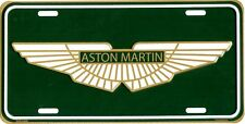 ASTON MARTIN METAL LICENSE PLATE AUTO TAG NUMBER #2501