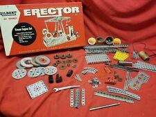 VINTAGE ERECTOR NO. 10062 STEAM ENGINE SET