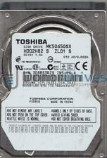 MK5065GSX, A0/GJ002H, HDD2H82 S ZL01 S, Toshiba 500GB SATA 2.5 Hard Drive