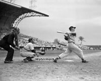 MLB 1950's Ted Williams Red Sox Yogi Berra Yankees Game Action  8 X 10 Photo Pic