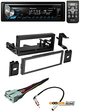 Stereo Dash Kit W/ WIRING HARNESS And Pioneer DEH-X3900BT CD Music Player