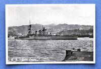 Cartolina Navi - Marina Militare - R.N. Giulio Cesare - 1940 ca..