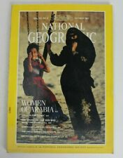 National Geographic Magazine October 1987 Women of Arabia Vol. 172 No. 4