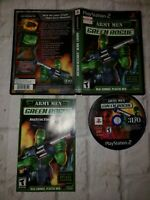 Army Men Green Rogue Playstation 2 PS2 Video Game Complete HOT SEXY