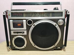 JVC RC-550S Vintage Boombox Stereo Cassette Player - Ghetto Blaster Old School