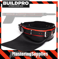 """BuildPro Steelfixers Belt 42"""" Leather Heavy Duty Stitching Back Support LBBSF42"""