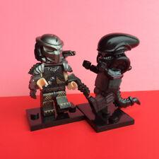 2pcs Alien Xenomorph & Predator Mini Figure Toy
