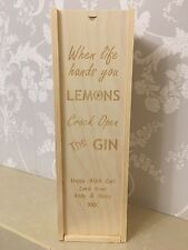 PERSONALISED GIN Gift Box All Occasions Birthday/Anniversary/Wedding/Bridesmaids