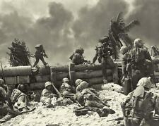 WWII BATTLE OF TARAWA VINTAGE PHOTO MARINE INVASION BEACH USMC 1943 #21232