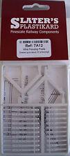 Slaters 7A12 Filo Recinzione Paletti Makes 3'Recinzione,Bianco Kit di Plastica